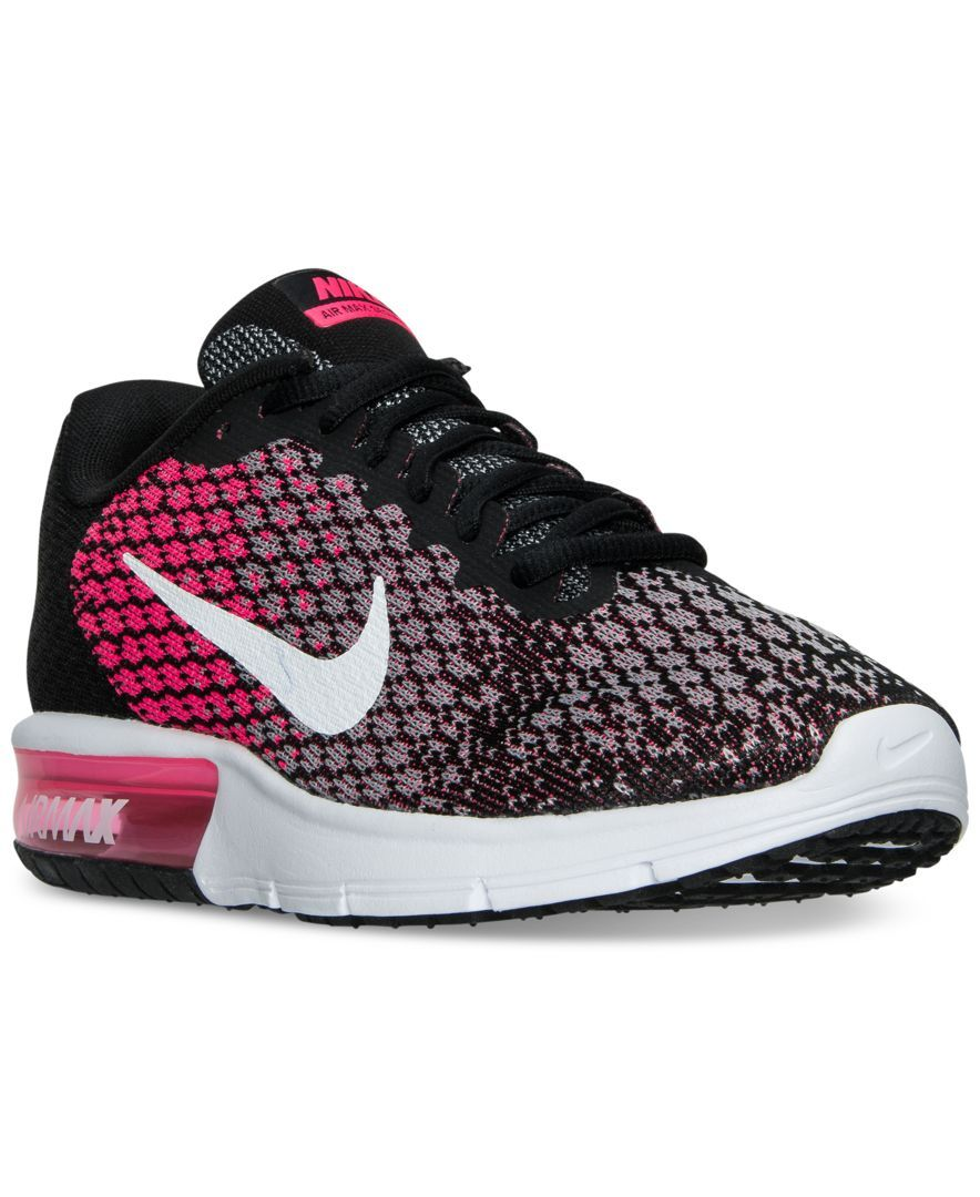 73fb7187b26 Nike Women s Air Max Sequent 2 Running Shoes from Finish Line ...