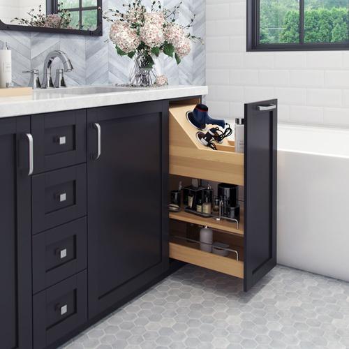 No Wiggle 8 Vanity Cabinet Pullout Vbpo8 Sc Bathroom Remodel