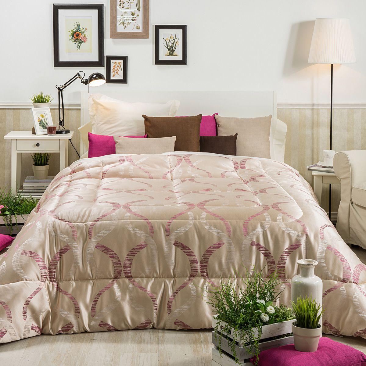 Matrimonio Bed Cover : EdredÓn conforter invierno cecilia morado edredones