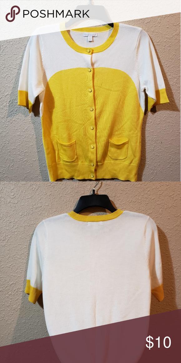 0e8845ea0d876 Sunny Day Retro Short Sleeve Cardigan This is a lovely Retro Cardigan short  sleeve shirt that