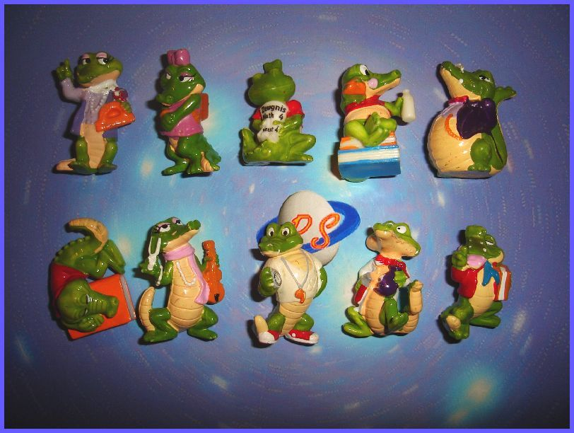 huge selection of e30d4 36168 Kinder Eggs Crocs | Kinder Egg Collectibles-Oh the Memories ...
