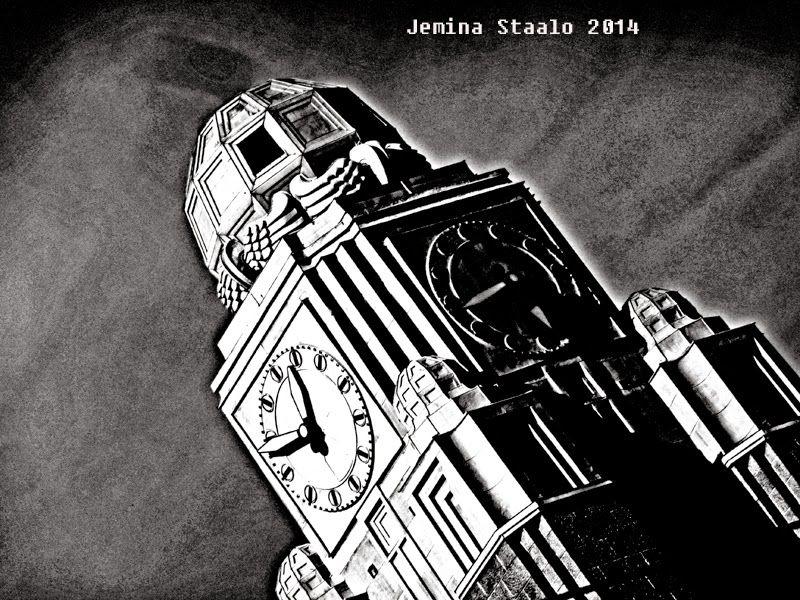 Jemina Staalon matkaploki 2014: Gotham city - Hellsinki