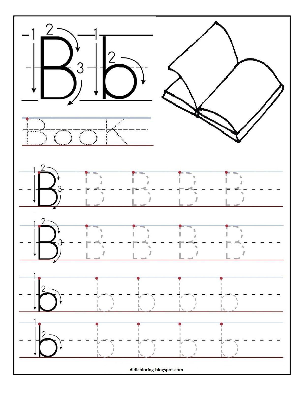 Free Printable Preschool Worksheets For Print Letter Worksheets For Preschool Alphabet Worksheets Preschool Letter B Worksheets [ 1600 x 1236 Pixel ]