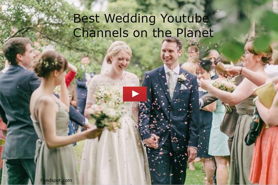 9cc019c73f7 Top 100 Wedding Youtube Channels for people in the Wedding Industry ...