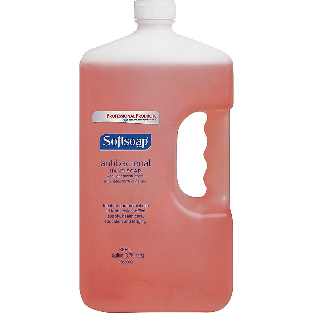 Softsoap Antibacterial Hand Soap Refill Orange 1 Gallon Pack Of