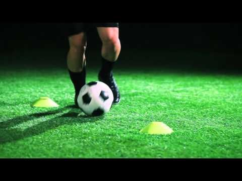 Soccer Drill Two Cone Setup To Improve Your Dribbling Soccer Drills Soccer Skills Soccer Coaching