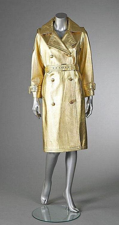 50e8539342d Coat Yves Saint Laurent