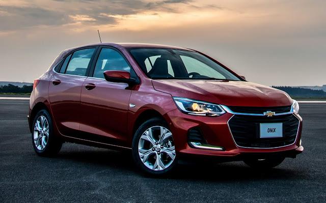 Novo Chevrolet Onix 2020 Fotos Precos E Detalhes Em 2020 Carro Onix Carro Mais Vendido Etios Sedan