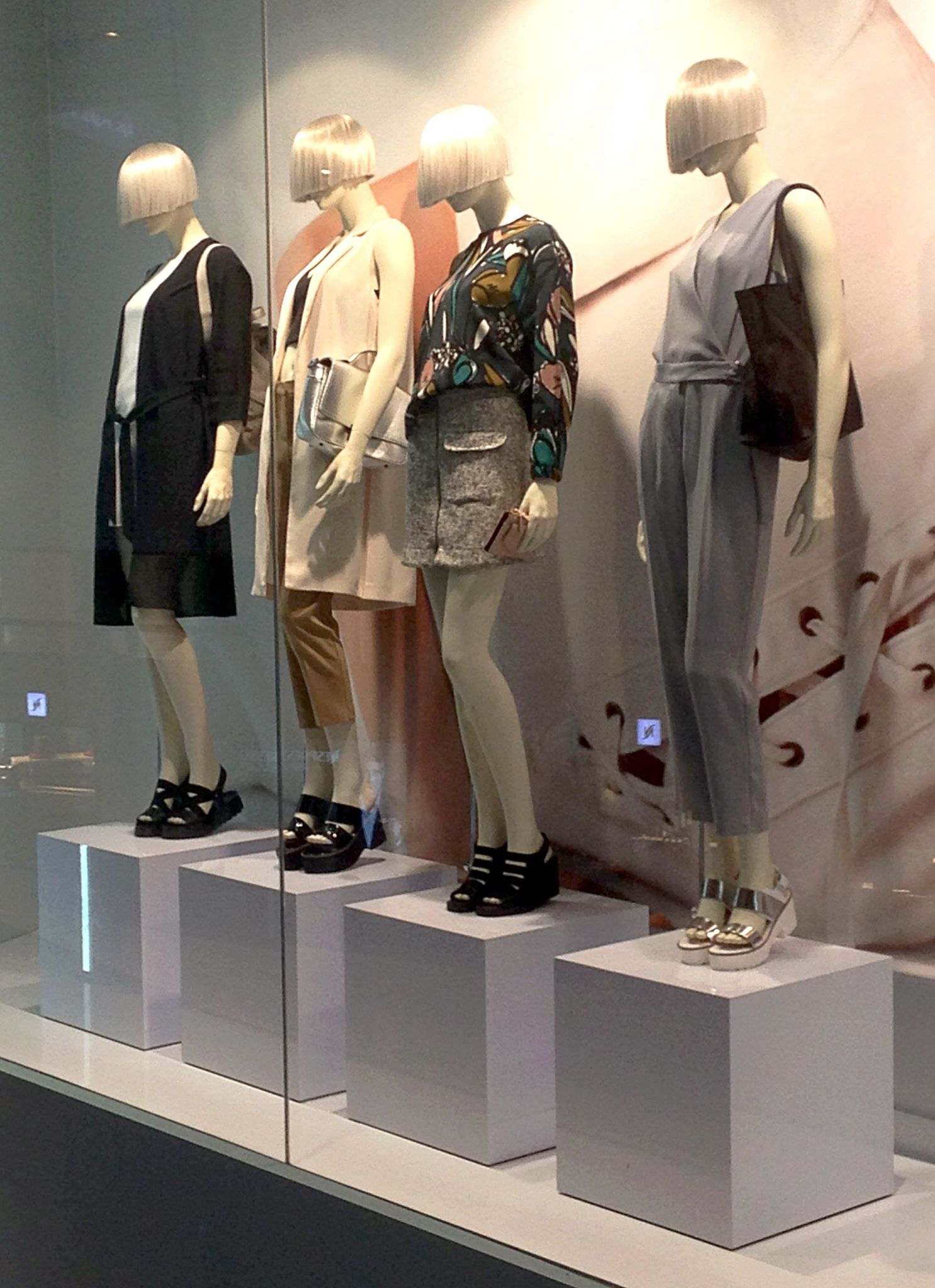 High Line mannequin styling at Topshop Emporium