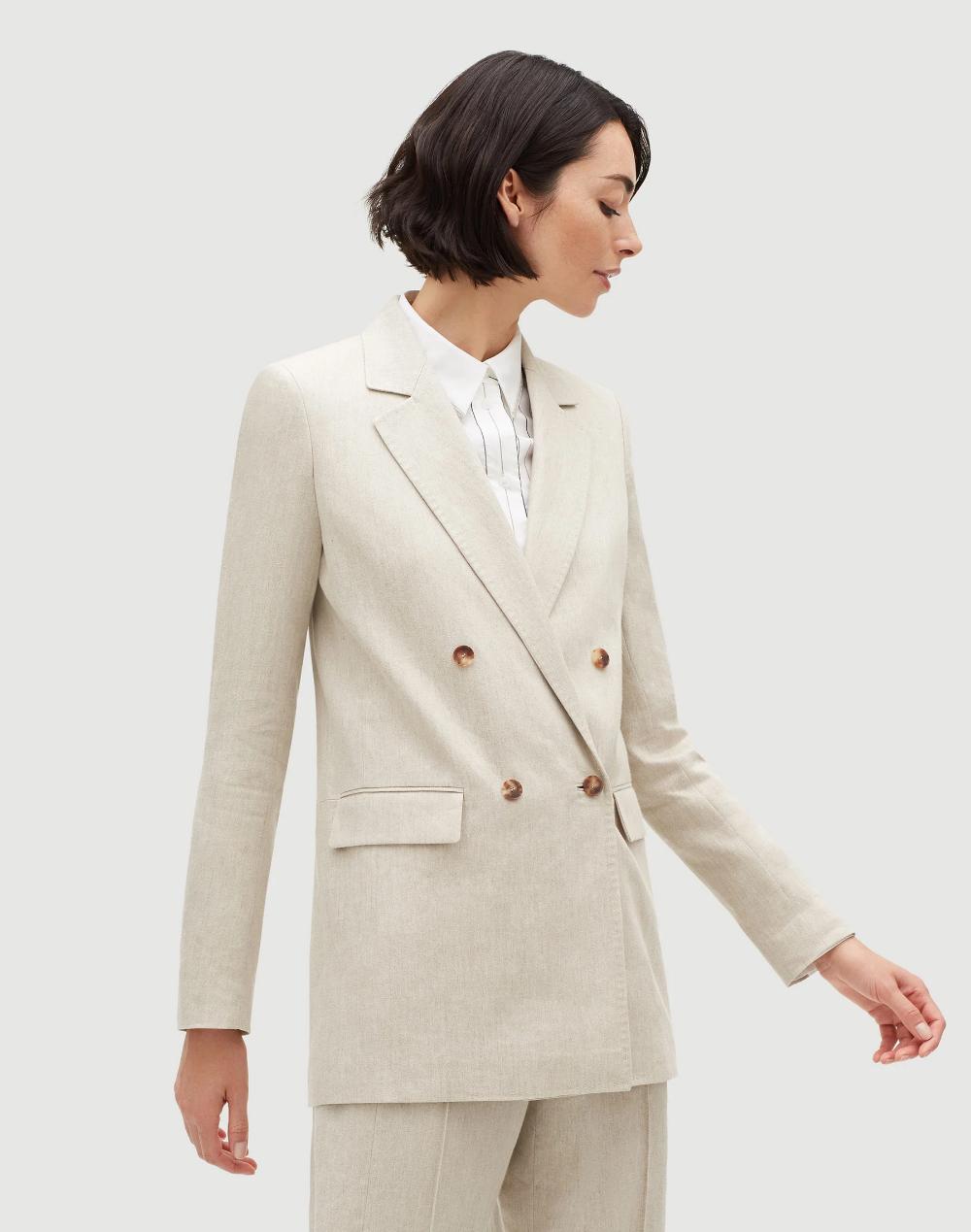Blazer Suit Modern Ladies Coat Pant Design
