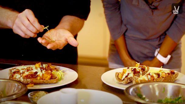 Vegetarisches Chili: Gesund Kochen mit Sebastian Copien und Laura
