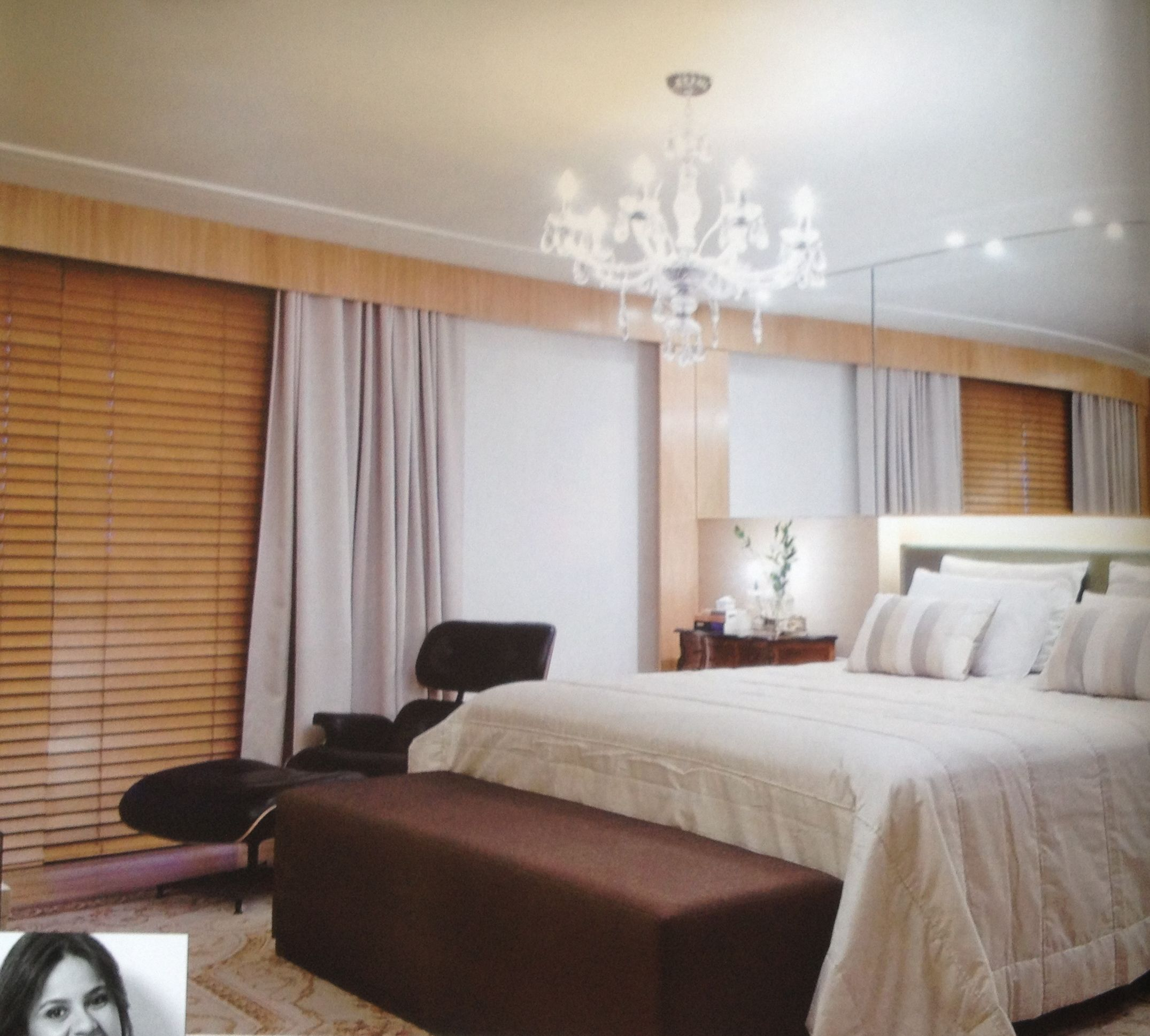 Persiana madeira com cortina de tecido cortinas e - Cortinas de persiana ...