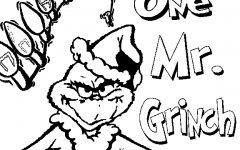 Grinch Coloring Pages Ideas