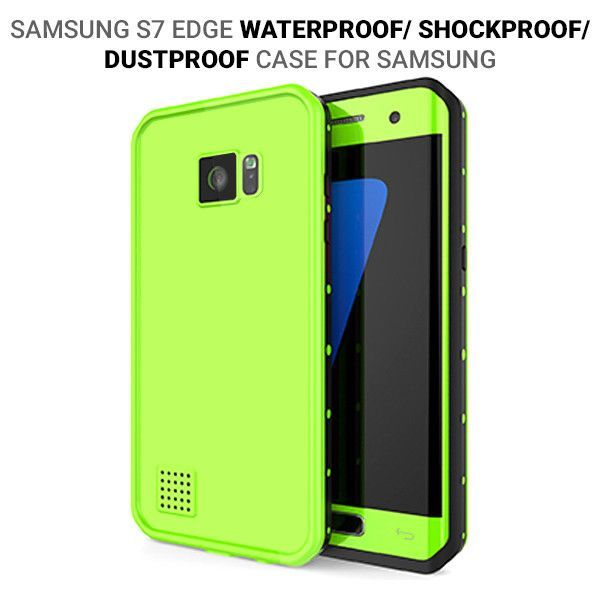 Samsung Dot Pro Series Waterproof Case For Galaxy S7 Edge Green