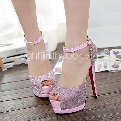 Mujer Zapatos Semicuero Primavera Verano Stiletto Otoño Tacón Stiletto Verano 38c5a7