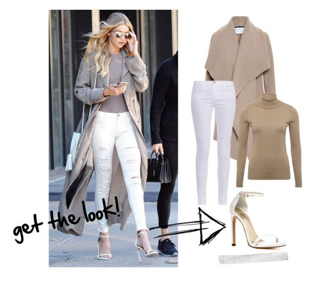 """get the look gigi"" by nicovargaz on Polyvore featuring moda, Harris Wharf London, Stuart Weitzman y J Brand"