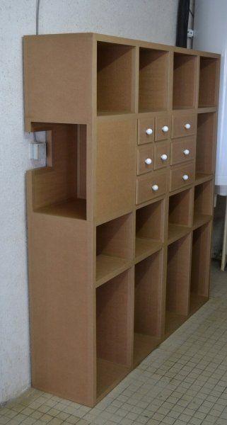 Blocs De Rangement Meubles En Carton Angers Rangement Carton Etagere En Carton Meubles En Carton