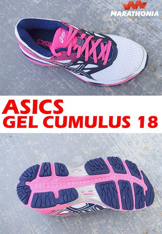 58bb57b61b3 Con las zapatillas running ASICS GEL CUMULUS 18 para mujer consigue un  rendimiento de élite con