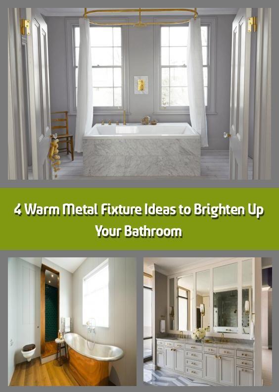Photo of 4 Ideen für warme Metallbefestigungen zur Aufhellung Ihres Badezimmers – Wir alle wissen, dass …