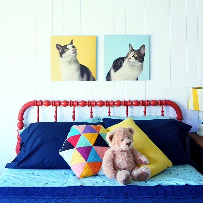 Hey hey! Another house project complete today!! It's Felix's room! Won't you have a look?  whatiworeblog.com