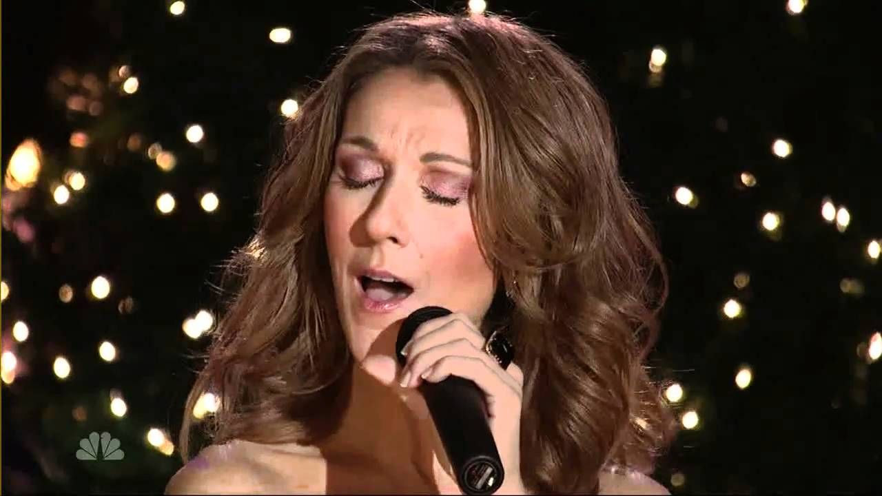 Celin Dion The Christmas Song Live At Christmas In Rockefeller Cen Christmas Music Videos Holiday Music Celine Dion Christmas