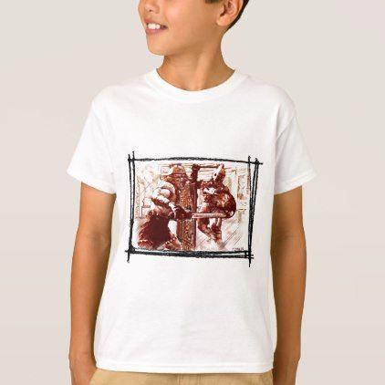 44c2e6550 Gladiators in Arena T-Shirt | Zazzle.com | Kids Shirts | Shirts, T ...
