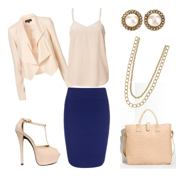 just bought a blue pencil skirt. | Fashion | Pinterest | Wednesday ...