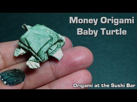 Origami turtle 거북이 색종이접기 - YouTube | 360x480
