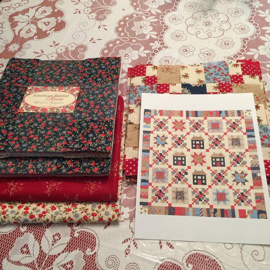 I Think It S Time To Finish This Quilt Miss Rosie S Heritage Square In American Banner Rose Quilts Tree Quilt Instagram Posts