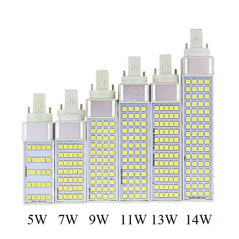Ikeacasa Lampada G23 G24 E27 5w 7w 9w 11w 13w 14w 85v 265v Ac Horizontal Plug Lamp Smd5050 Bombillas Led Corn Bulb Spot Light Ce Rohs Led Hering