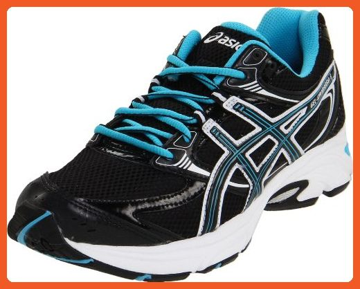 e1a1bfff96d ASICS Women's GEL-Kanbarra 6 T188N.9099 Running Shoe,Black/Onyx/Neon  Blue,7.5 M US - Athletic shoes for women (*Amazon Partner-Link)