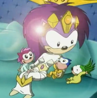 Sonic Sonia And Manic Even Queen Aleena Sonic Sonic