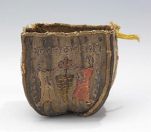 Fourth quarter 17th century, probably France - Purse - Silk, metal