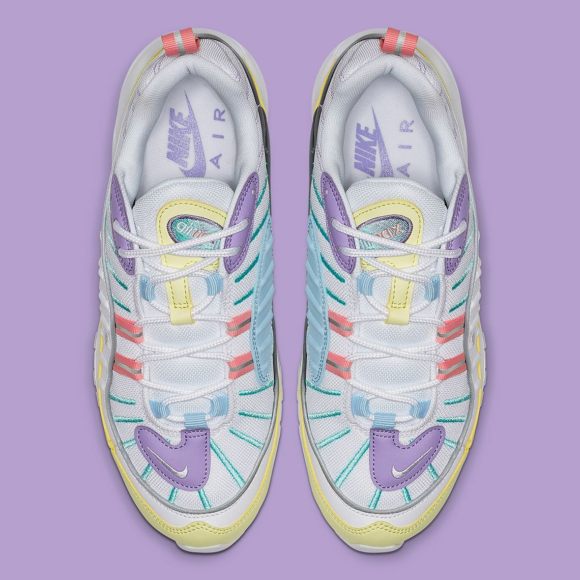 Nike Air Max 98 Easter AH6799 300 Release Info | SneakerNews.com ...