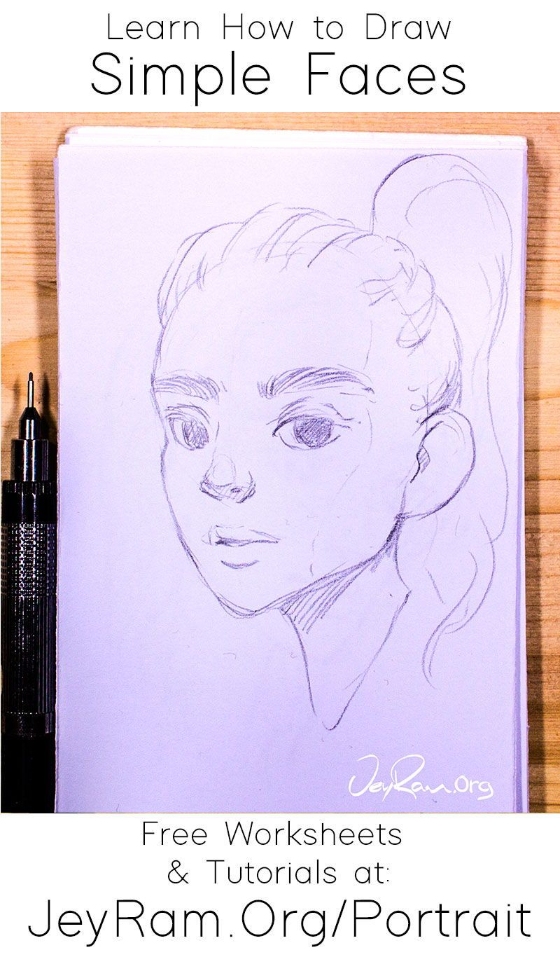 How To Draw Faces Tutorial Series In 2020 Face Drawing Drawings Drawing Tutorial