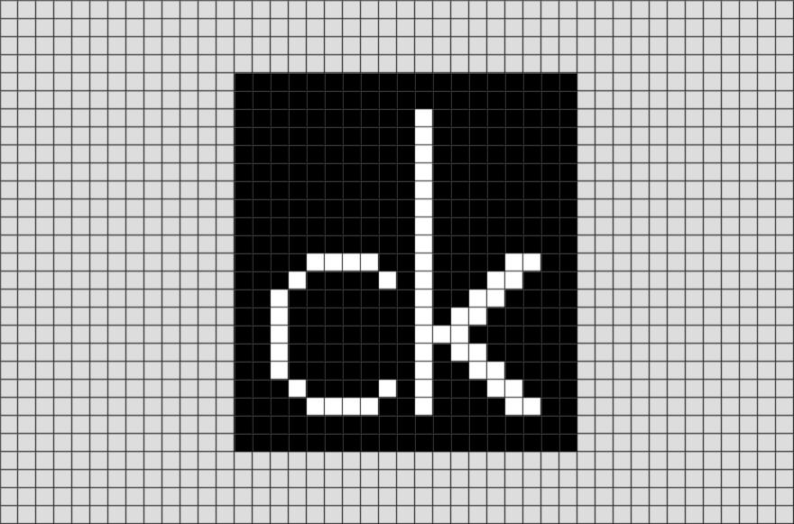 Calvin Klein Pixel Art In 2020 Pixel Art Pixel Art Design Pixel Art Templates