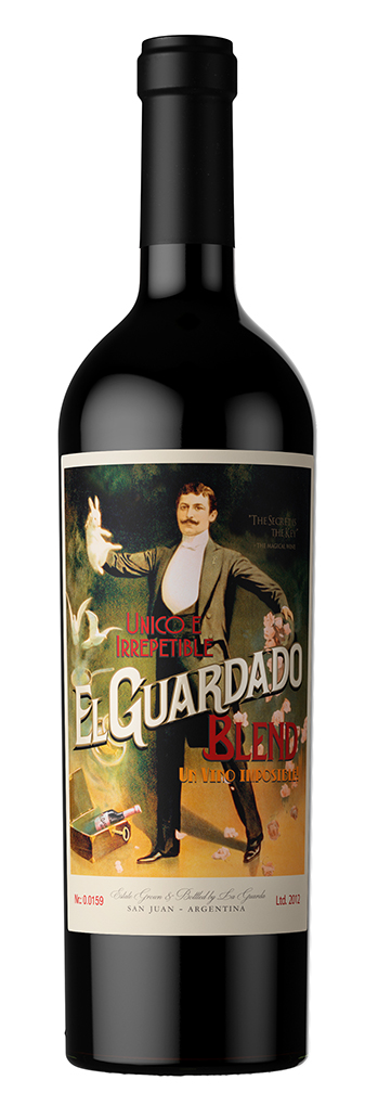 El Guardado Blend / La Guarda Wines / San Juan, Argentina / #wines #packaging #graphicdesign