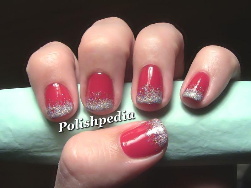 Christmas Nail Designs | Ombre Christmas Nail Art | Polishpedia - Christmas Nail Designs Ombre Christmas Nail Art Polishpedia