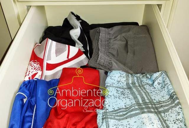 A diferença entre arrumado e organizado