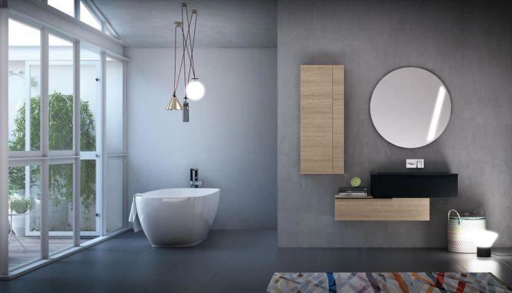 Composizione Bagno Nw7 - Puntotre Arredo Bagno   Vogue experience ...
