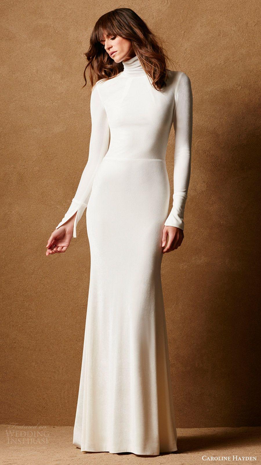 Caroline Hayden Fall 2016 Collection Wedding Dresses Bridal Separates Wedding Inspirasi Wedding Dress Long Sleeve Velvet Wedding Dress Wedding Dresses [ 1600 x 900 Pixel ]