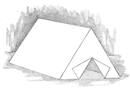 Paper folding instructions to make Gen. Geo. Washington's