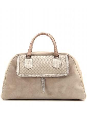 4b66019e5a79 NEW Bottega Veneta  runway  bag Karung suede and crocodile leather  tote   bag  bottegaveneta  women  designer  covetme  bag  handbag  fashion   trending ...