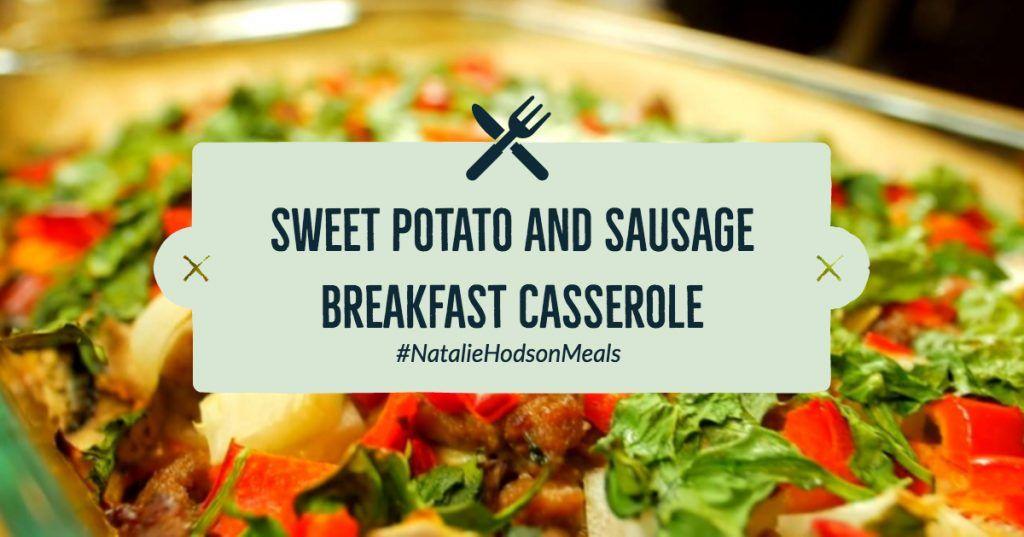 sweet potato and sausage breakfast casserole recipe