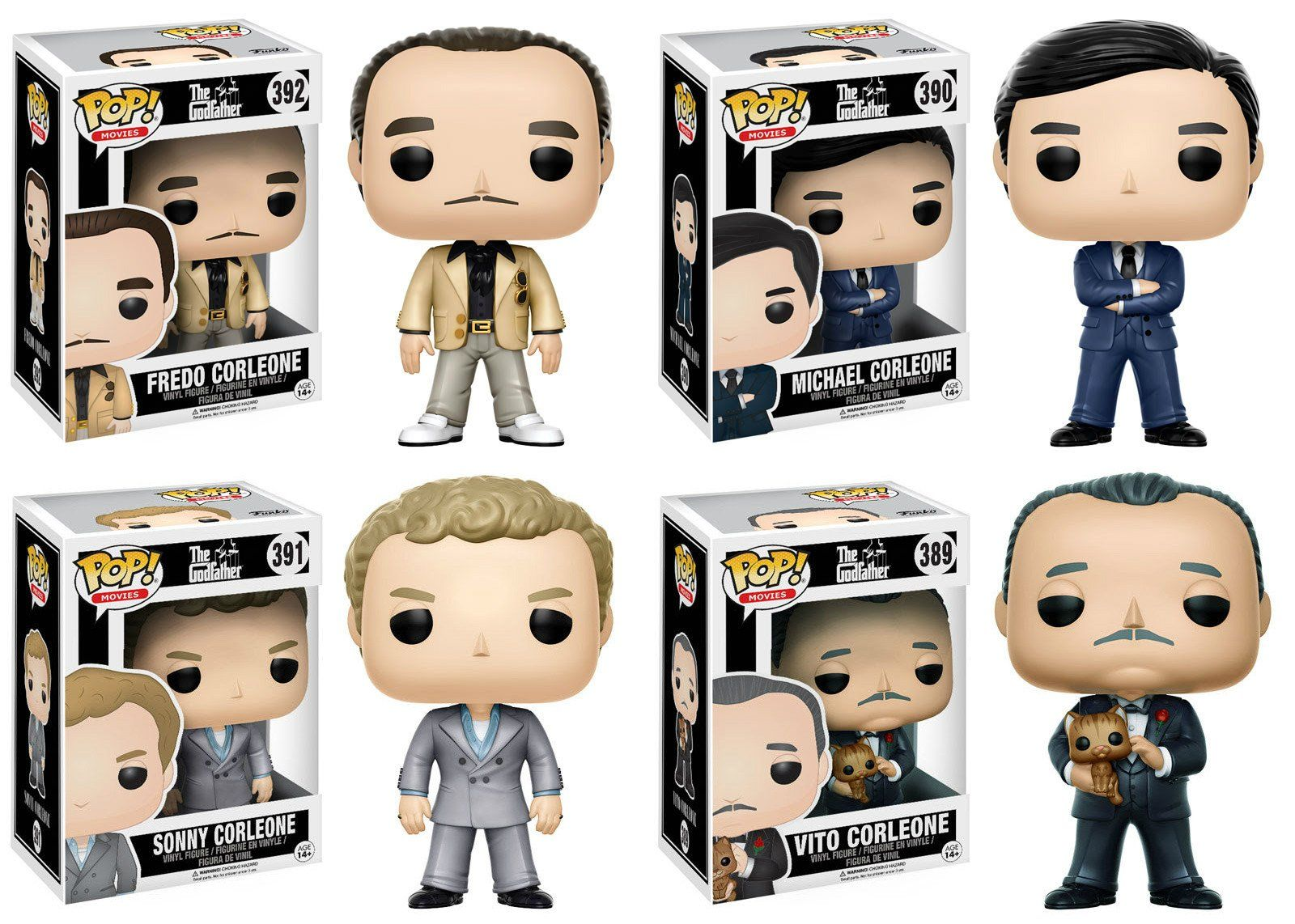 Funko Pop Movies The Godfather 392 Fredo Corleone