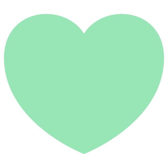 Mint green heart wallpaper | Heart wallpaper, Love symbols ...