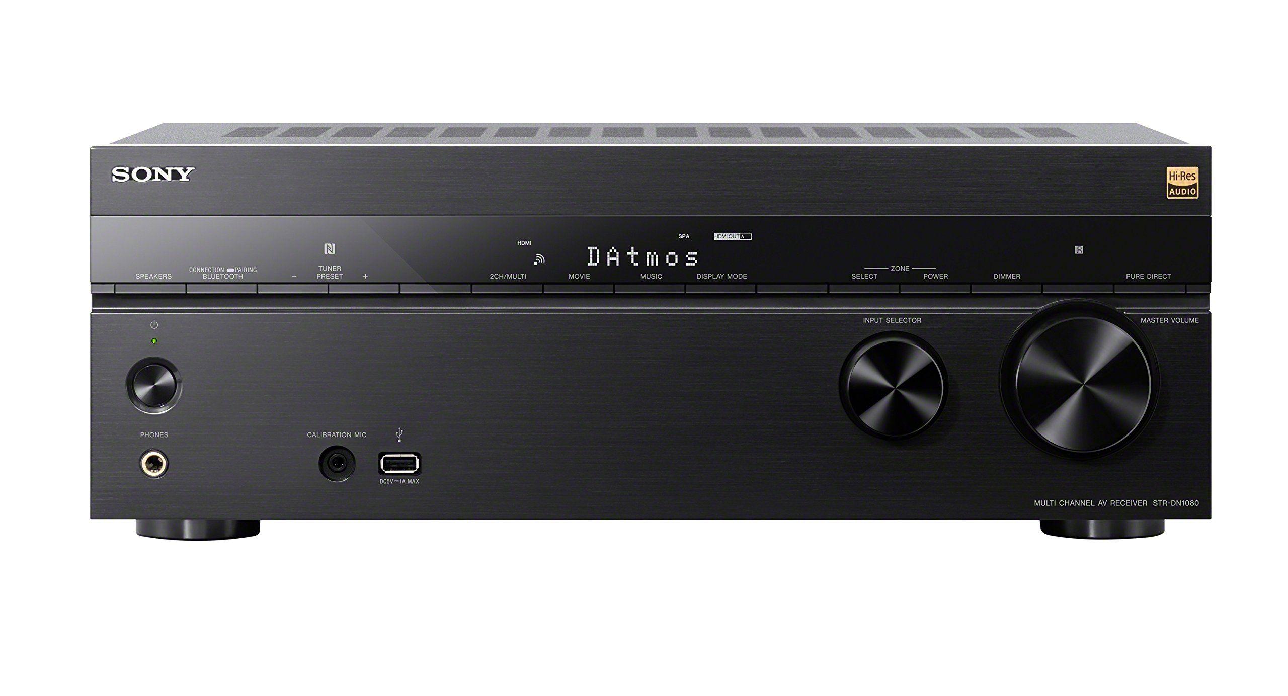 Sony STRDN1080 7.2 Channel Dolby Atmos Home Theater AV Receiver ...