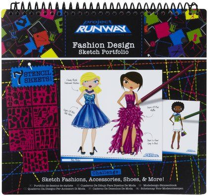 Fashion Angels Project Runway Fashion Design Sketch Portfolio Fashion Angels Fashion Design Sketch Fashion Design Sketches