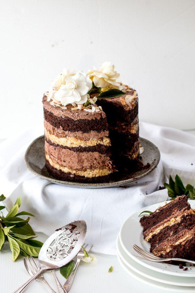 Momofuku Deutscher Schokoladen Espresso Kuchen & ein Blog Geburtstag - The Brick Kitchen