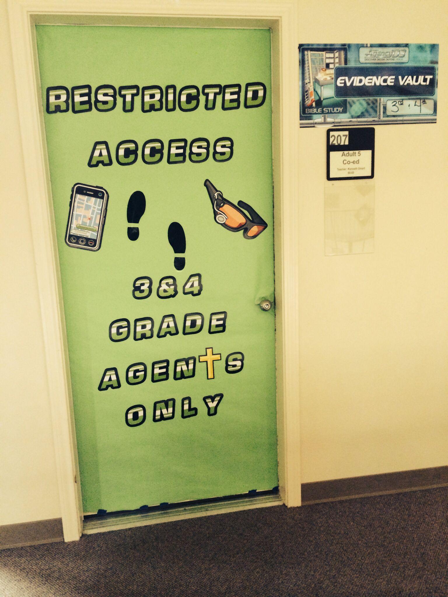 Agency D3 Door